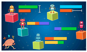 Thinking Blocks from MathPlayground is an excellent interactive bar modelling tool. I have used it with Primary and Secondary.