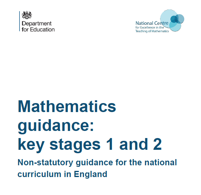 DfE Curriculum Guidance - 2020 Dedicated Enigma Maths Hub page looking more widely at the document and the implications including:  Use of the document in school Further supplementary materials