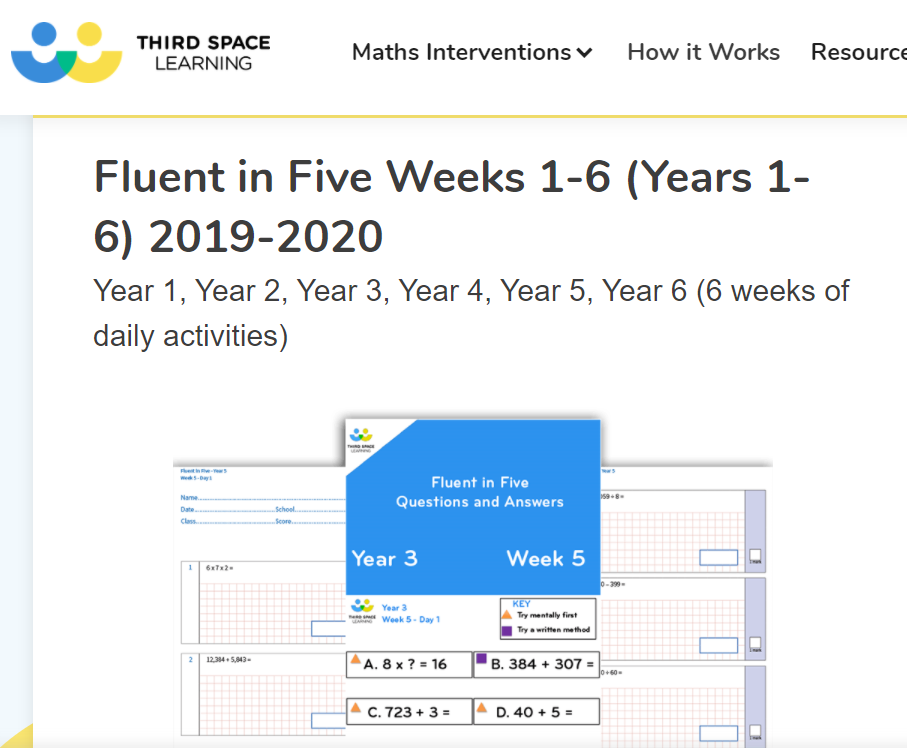 Fluent in Five Third Space Learning