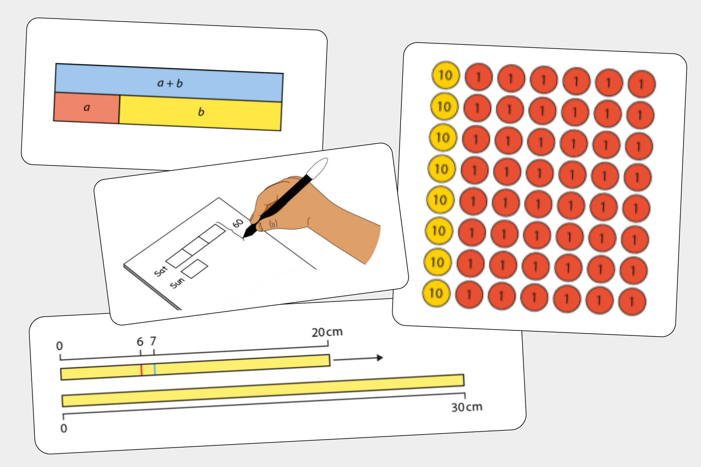 Although manipulatives and representations are commonly used in primary mathematics or have been historically considered the reserve of lower prior attainers, they can be equally valuable for revealing mathematical structures at secondary level for all students.  We have produced guidance for some of the most useful representations for Key Stage 3 mathematics. Each guidance document details:  - what they are - why they are important - how they might be used.