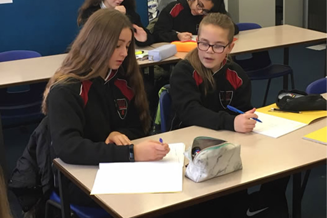 The NCETM visit a Redborne Upper School using the PD materials to structure INSET and department time for professional development.
